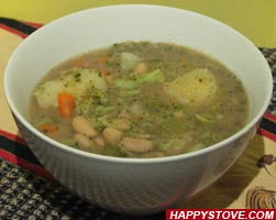 Homemade BPB Soup - By HappyStove.com