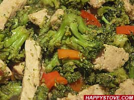 Stir Fry Broccoli Pork - By happystove.com