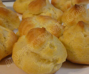 Choux Pastry Dough - By happystove.com