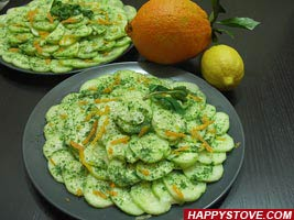 Cucumber and Mint Salad - By happystove.com