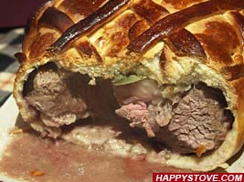 Filet Mignon in Bread Crust