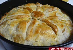 Flaky Crust Dough - By happystove.com