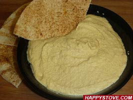 Hummus sauce - By happystove.com