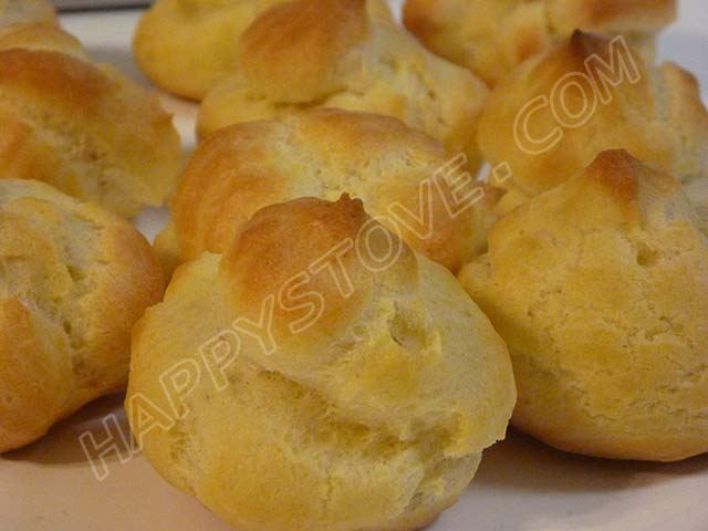 Choux Pastry Dough